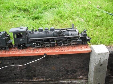G Scale USA 2-6-6-2 Mallet tender locomotive
