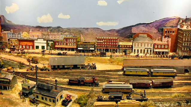 Virginia & Truckee Railroad - Cliff South